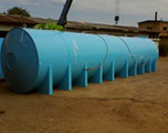Накопительная бочка 15 м3 для питьевой воды